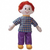 Dad doll red hair