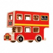 CITY BUS PLAYSET FAIR TRADE